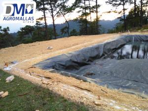 Estanques dm agromallas for Geomembrana para estanques de agua